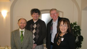 Robert Johnston/IAPO, Michael Barry/FIDM, Dave de Bronkart, me