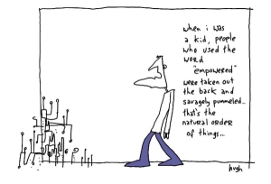 pummeled by @gapingvoid